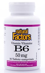 Natural Factors Vitamin B6