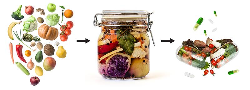 健康新概念:風靡全球的「發酵全食物 」